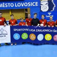 Sportovní liga ZŠ - házená - krajské finále IV