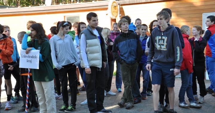 Foto: Republikové finále v přespolním běhu Běháme s BK tour